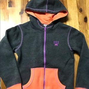Nike Hooded Jacket Girls Size M (10/12)